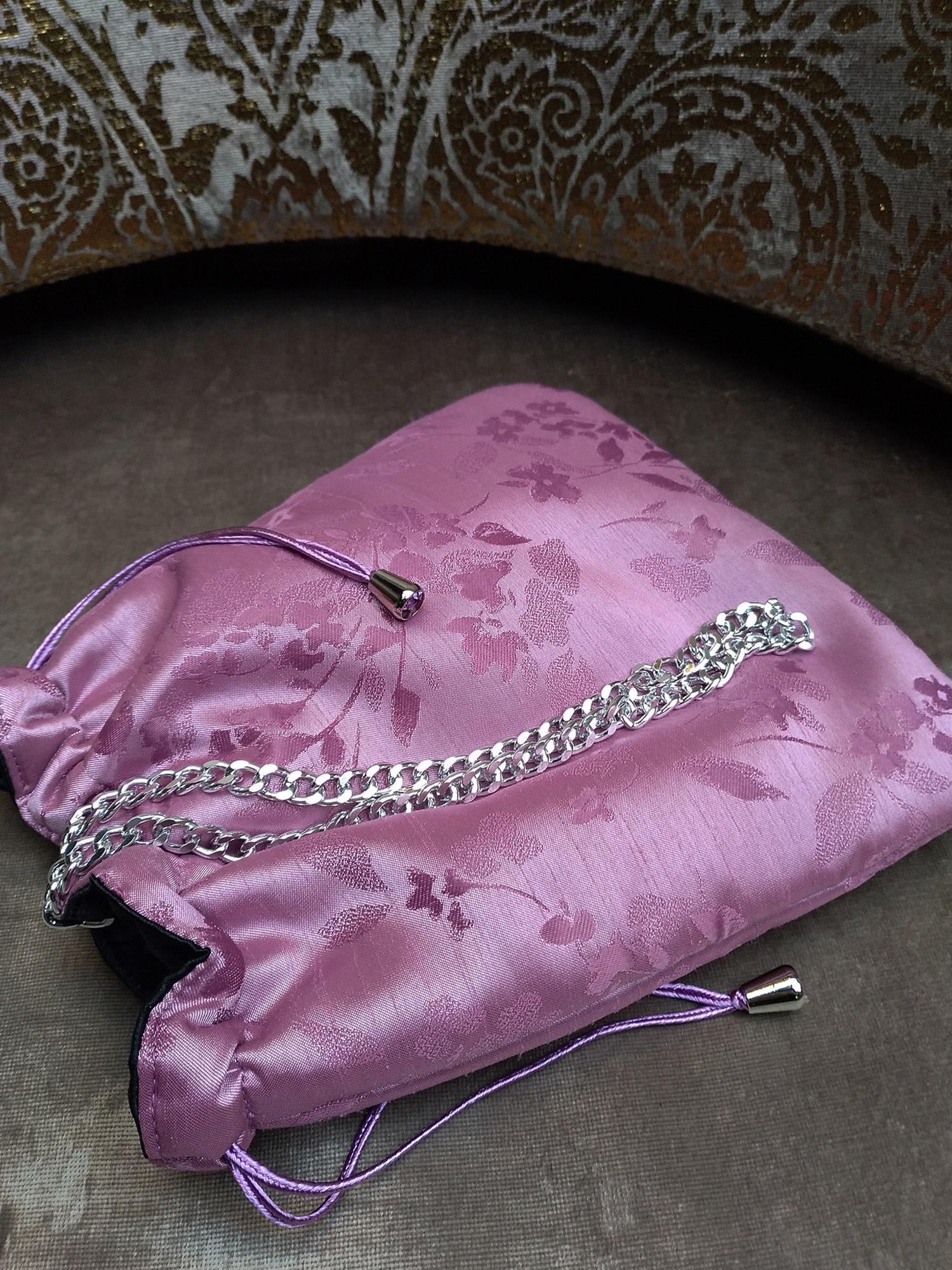 bolso-rosa fiesta-malva-brocado