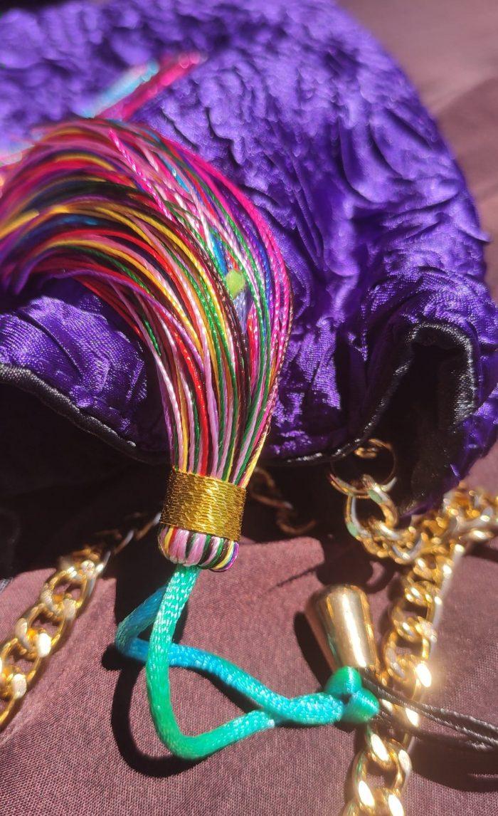 detalle bolso orquidea scilla e cariddi